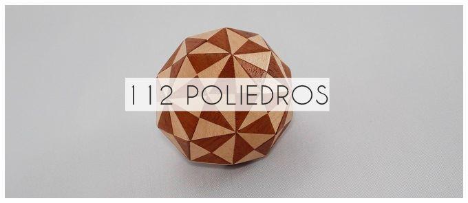 Acercamiento a la geometría a través de 112 poliedros